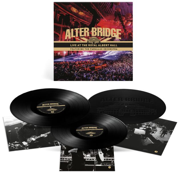 Image of Alter Bridge Live from the Royal Albert Hall feat. The Parallax Orchestra 3-LP Standard