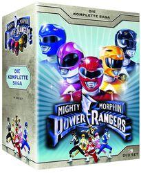Power Rangers Mighty Morphin Power Rangers - Die komplette Saga - Staffel 1-3