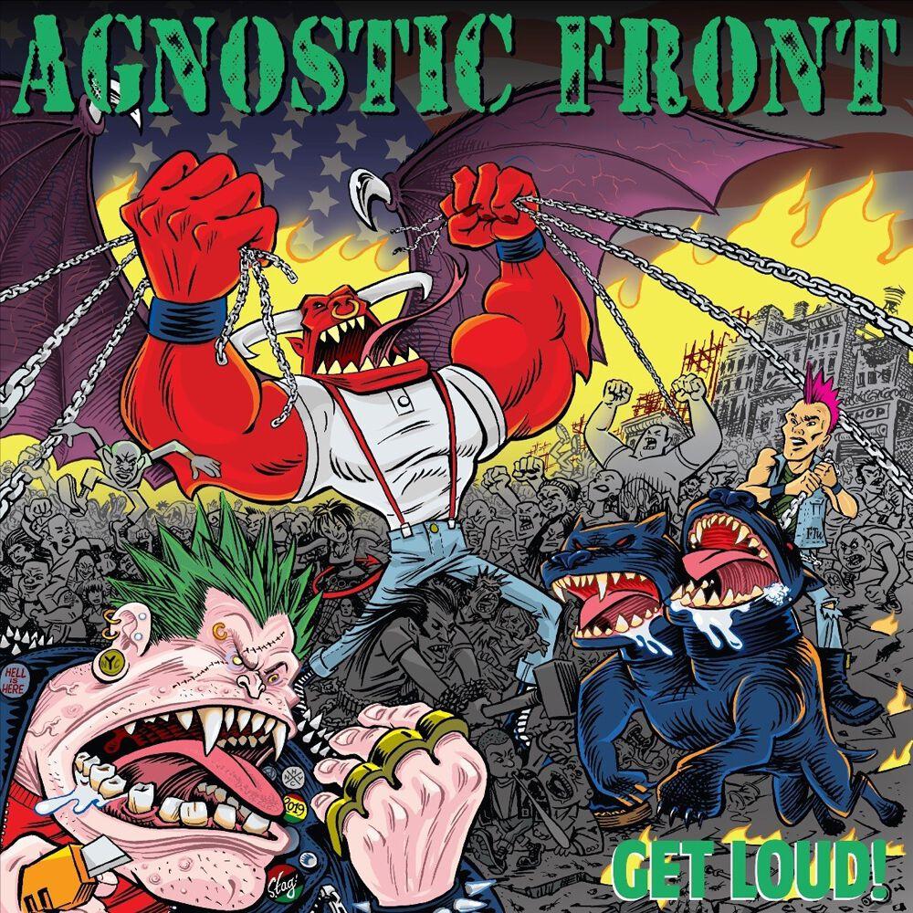 Image of Agnostic Front Get loud! CD Standard