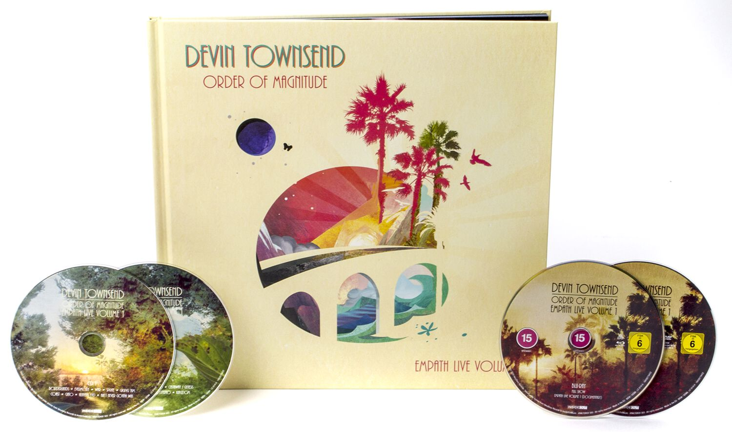 Image of Devin Townsend Order of magnitude - Empath Live Volume 1 2-CD & DVD & Blu-ray Standard