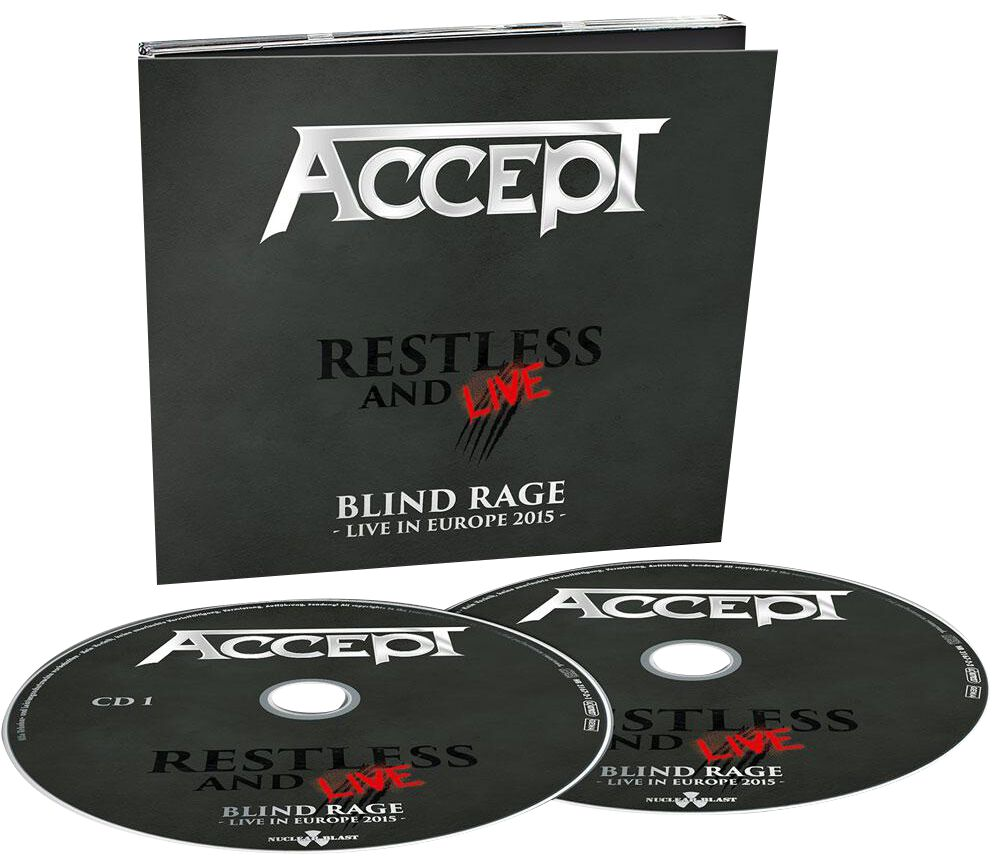 Image of Accept Restless and live 2-CD Standard