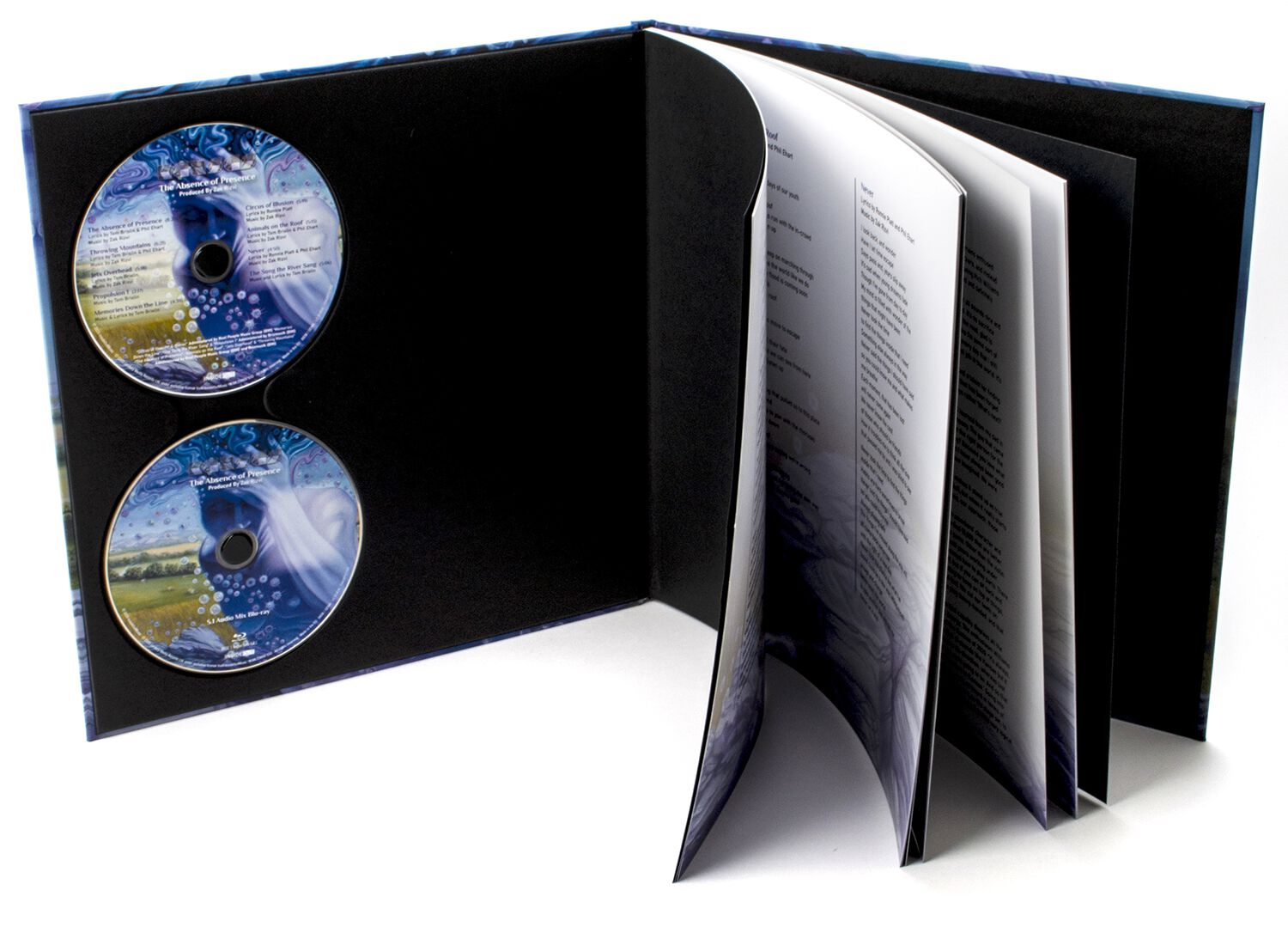 Image of Kansas The absence of presence CD & Blu-ray Standard