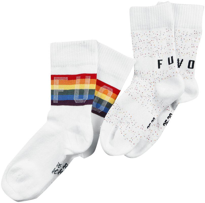 2er Pack Rainbow Socks