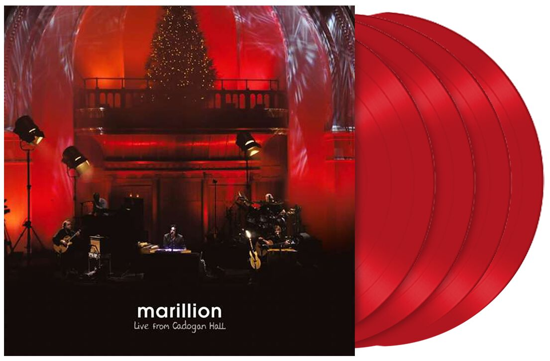 Image of Marillion Live from Cadogan Hall 4-LP rot