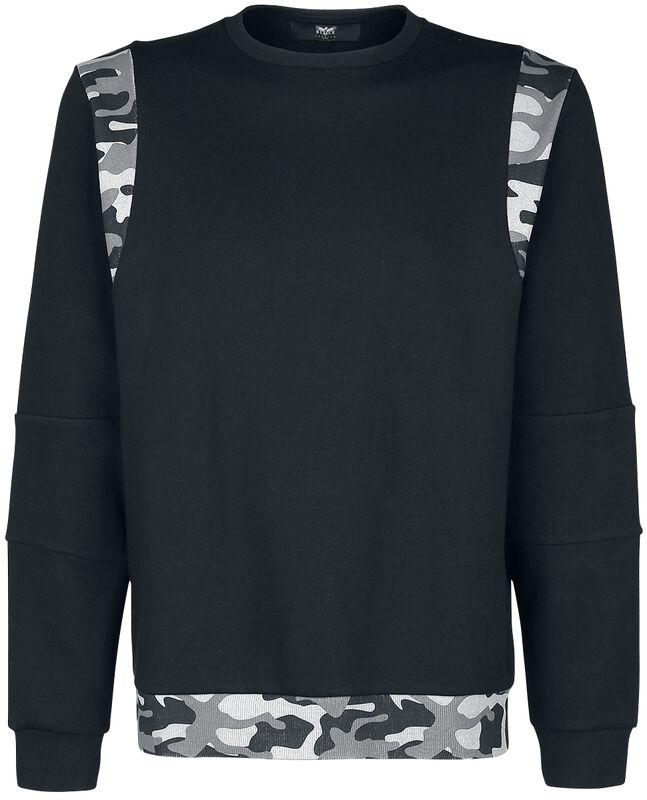 Sweatshirt mit Camouflagedetails