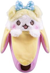 Pink Bananya Plush Figure