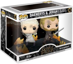 Daenerys and Jorah at the Battle of Winterfell (Movie Moments) Vinyl Figur 86