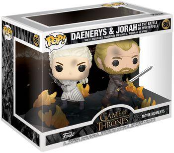 Daenerys and Jorah at the Battle of Winterfell (Movie Moments) Vinyl Figur 86