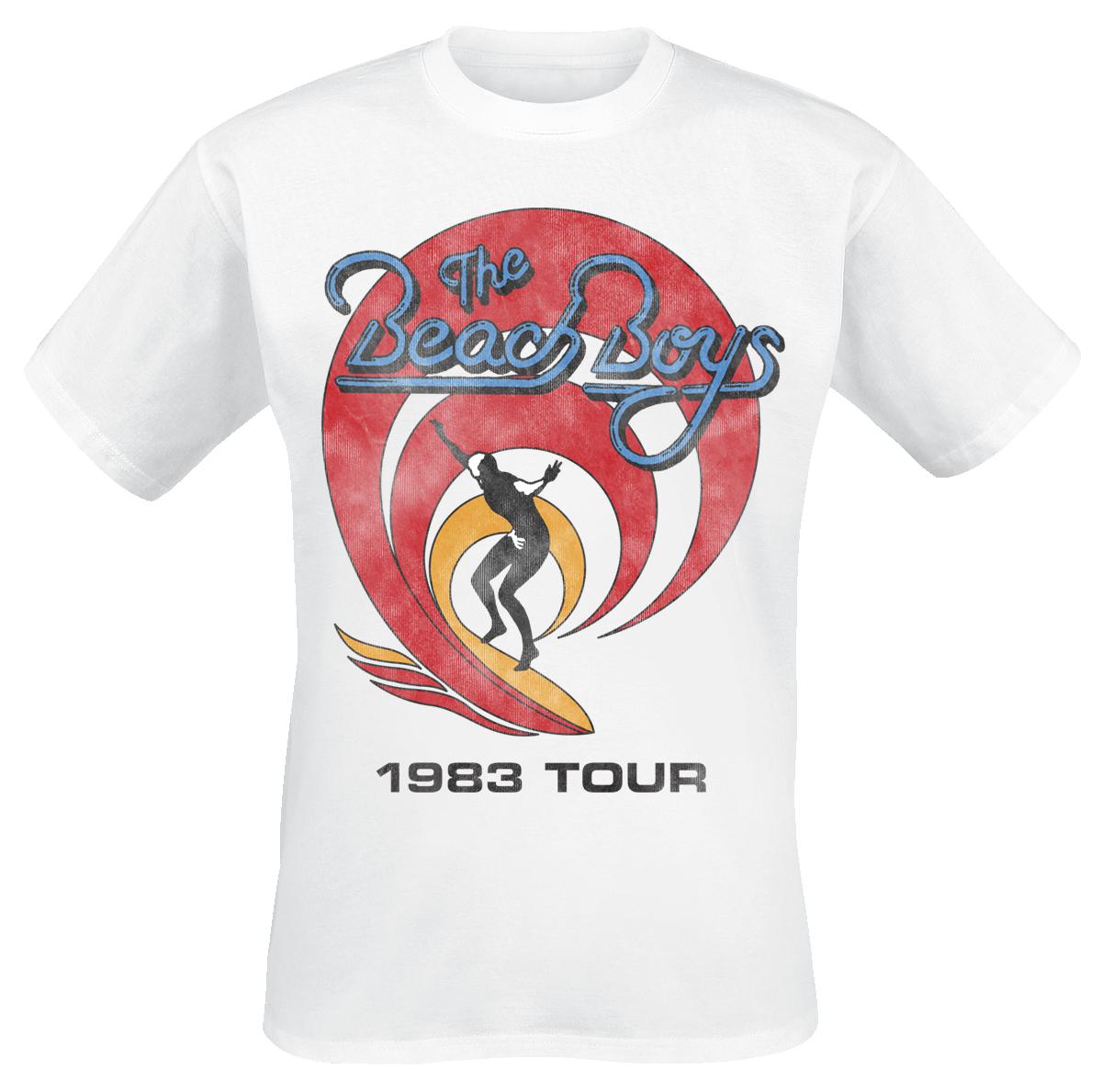 Beach Boys - 1983 Tour - T-Shirt - white image
