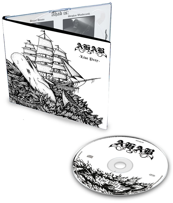 Image of Ahab Live prey CD Standard
