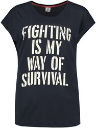 Fighting is my way of survival