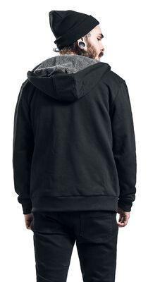 Sherpa Lined Zip Hoody