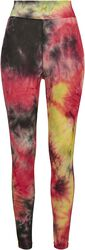 Ladies Tie Dye High Waist Leggings