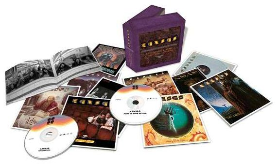 Image of Kansas The complete albums collection 11-CD Standard