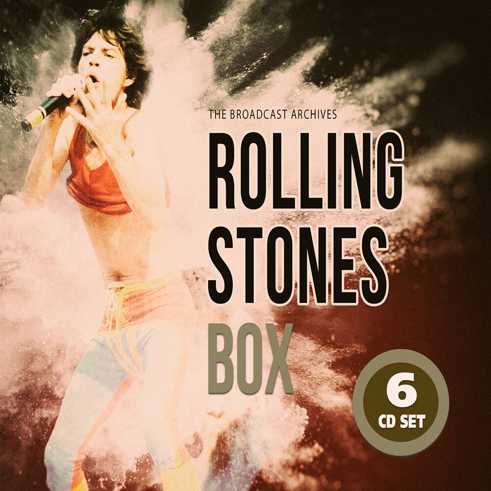 Image of The Rolling Stones The Broadcast archives 6-CD Standard