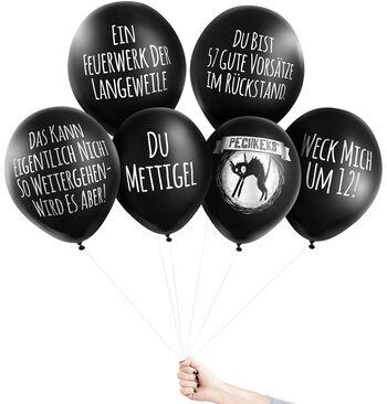 Anti-Ballons - Silvester