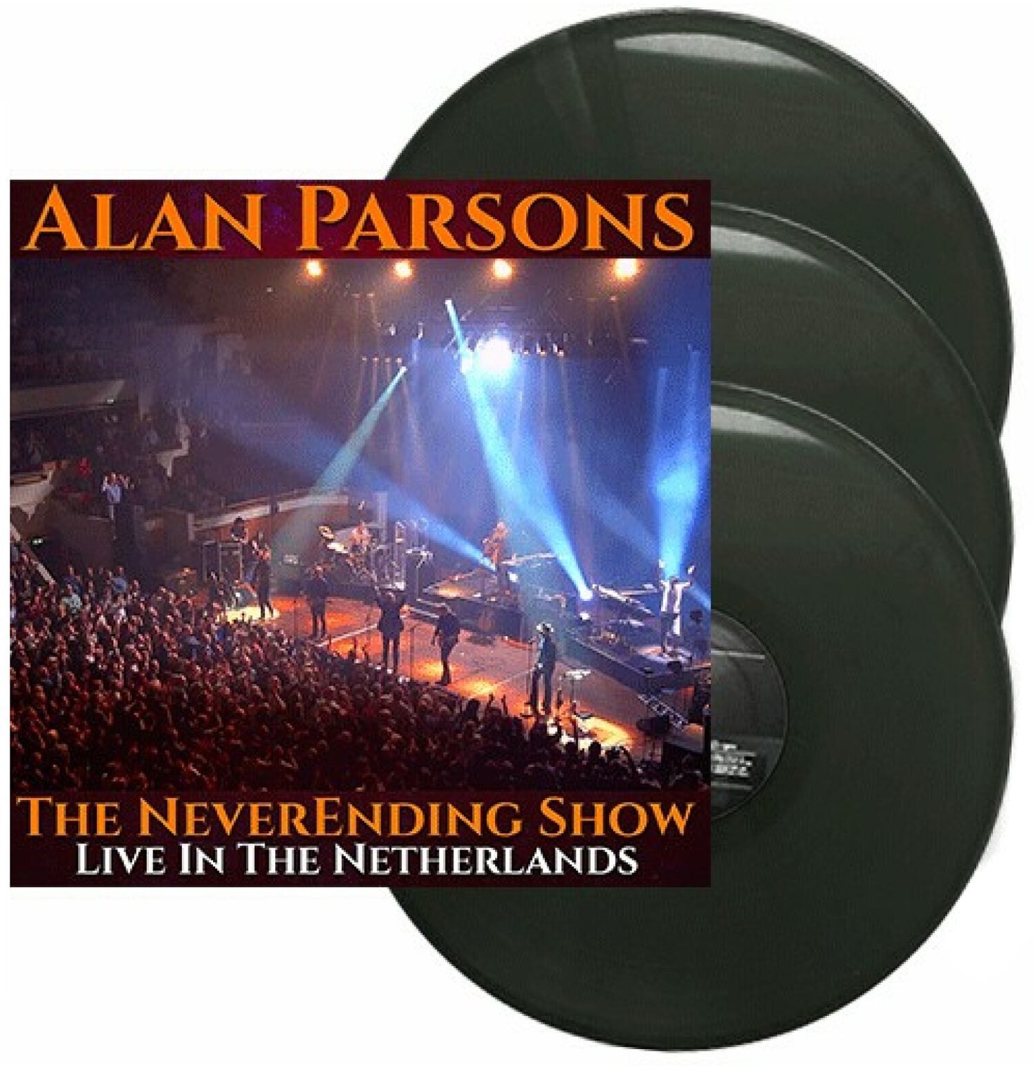 Image of Alan Parsons The neverending Show - Live in the Netherlands 3-LP schwarz