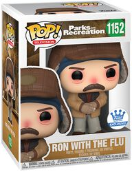 Parks And Recreation Ron with the Flu (Funko Shop Europe) Vinyl Figur 1152