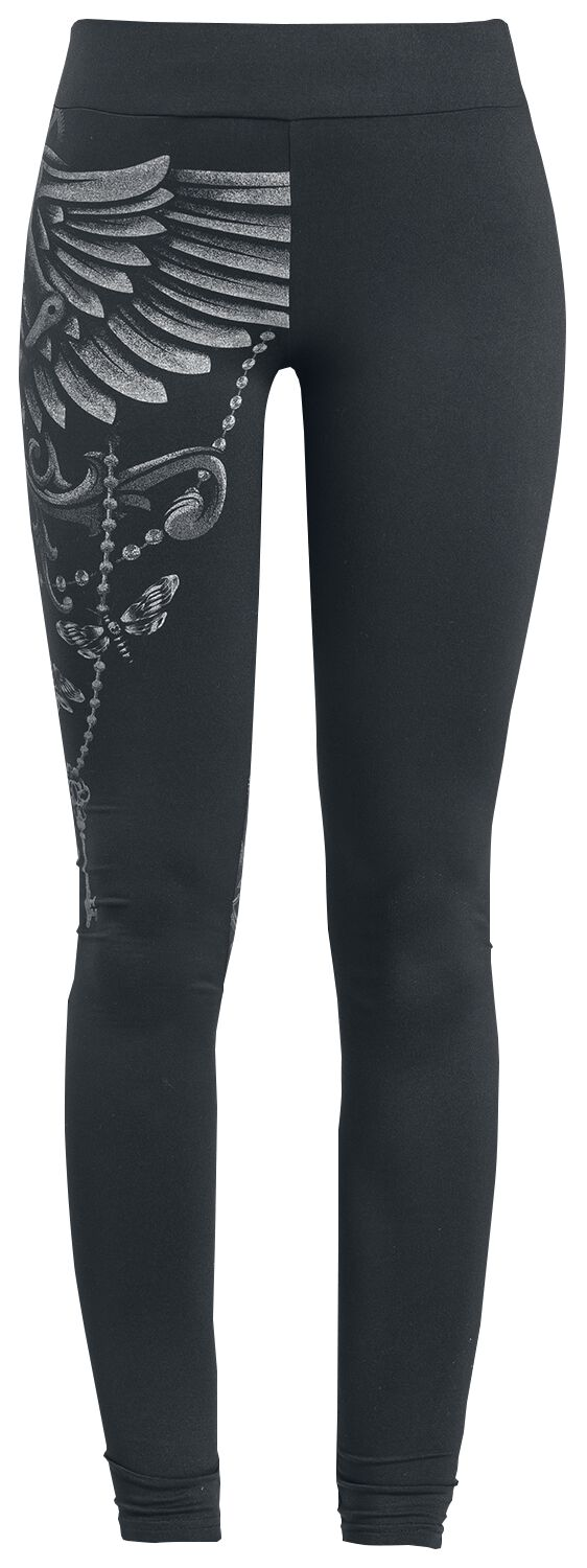 Gothicana by EMP Built For Comfort Leggings black