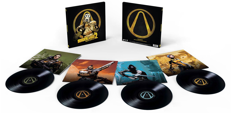 Image of Borderlands 2 - Original Soundtrack 4-LP Standard