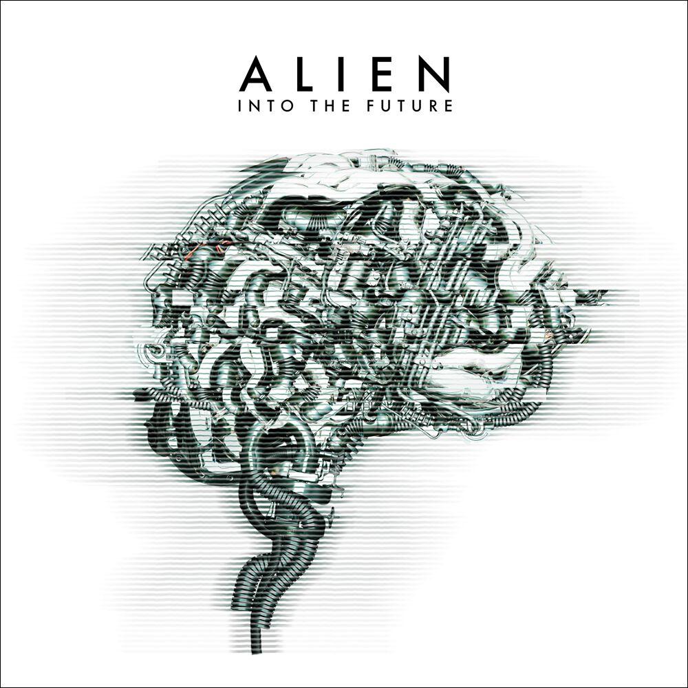 Alien  Into the future  CD  Standard