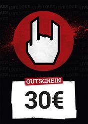 Kauf- und Wertgutschein 30,00 EUR