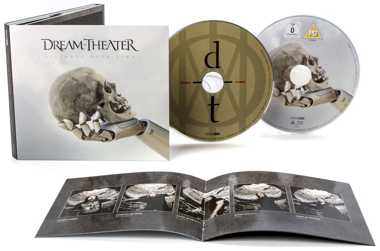 Image of Dream Theater Distance Over Time CD & Blu-ray Standard