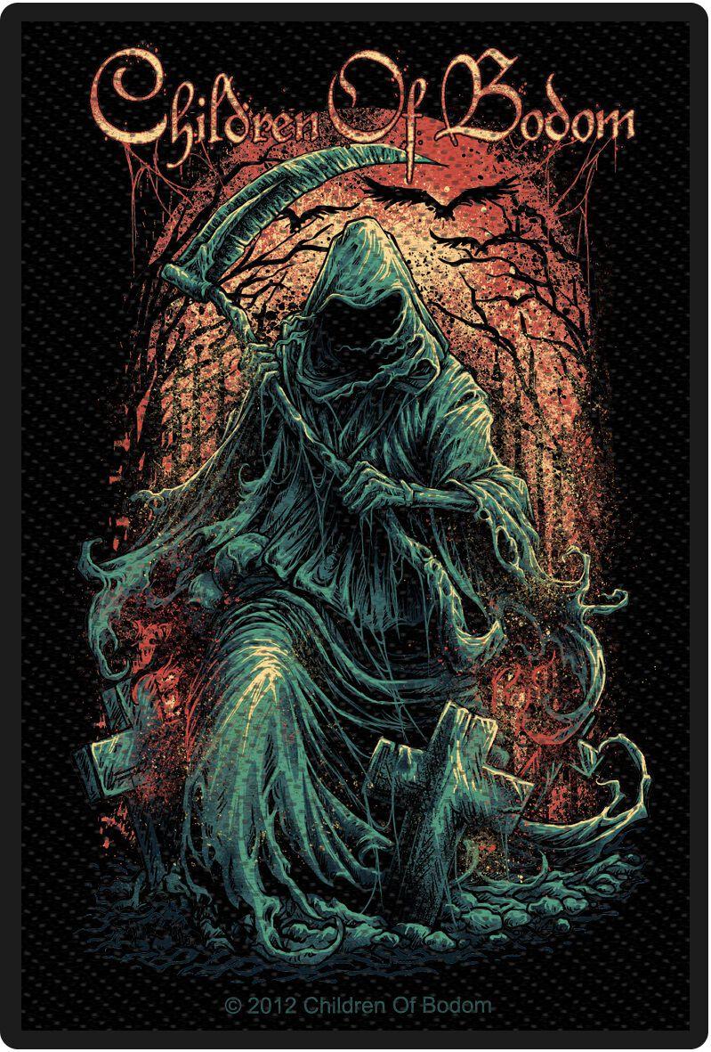 Children Of Bodom  Reaper  Patch  schwarz