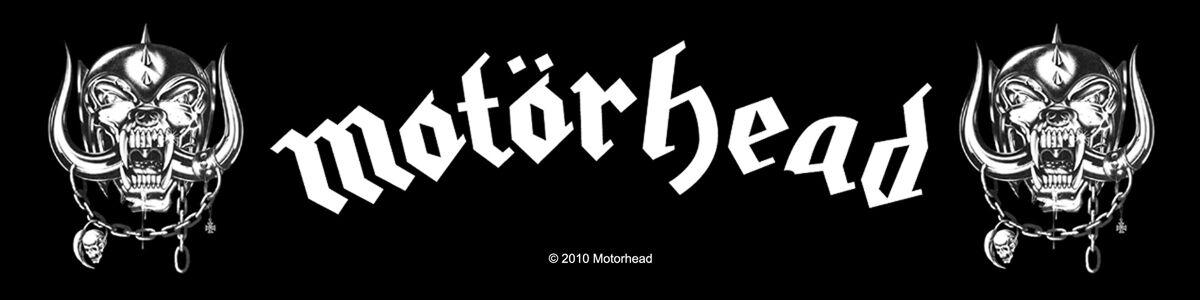 Motörhead War Pigs  Patch  schwarz/weiß