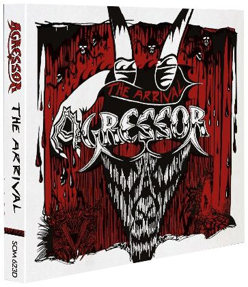 Image of Agressor The arrival 2-CD Standard