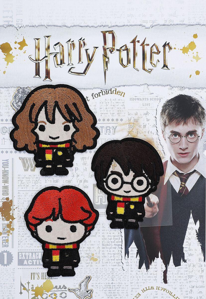 Harry Potter Harry, Ron und Hermine  Patch  multicolor