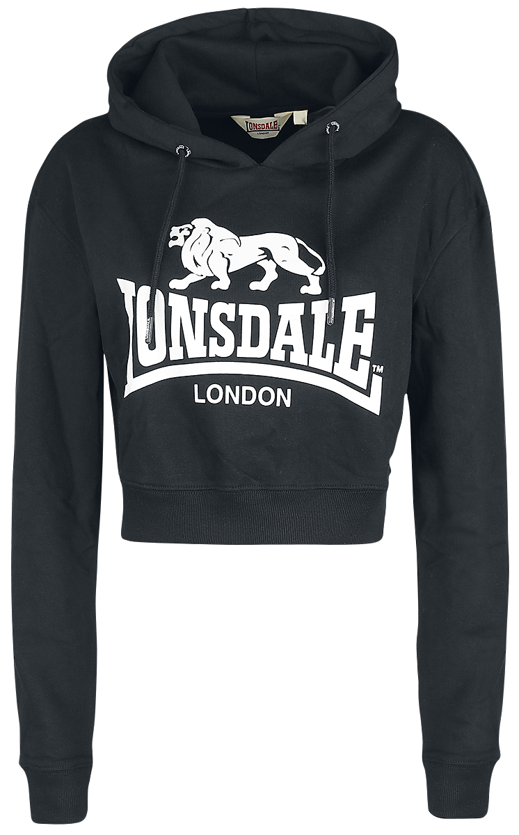 Lonsdale London - Roxeth - Girls hooded sweatshirt - black image