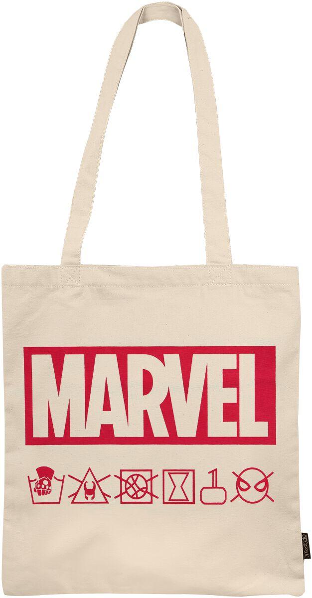 Marvel Marvel Logo Stofftasche multicolor 2100002895
