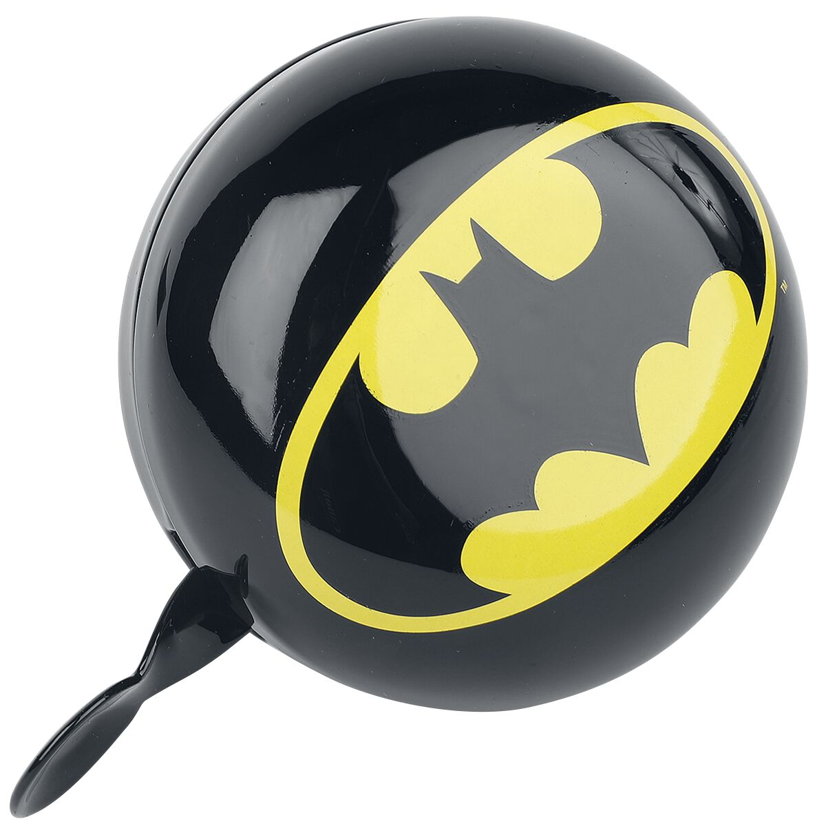Batman Batman Logo Fahrradklingel  Fahrradklingel  schwarz/gelb