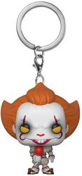 Es (2017) - Pennywise (mit Ballon) Pocket POP! Keychain