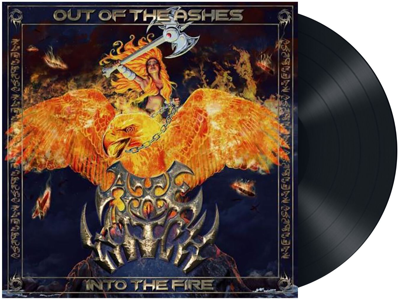 Image of Axewitch Out of the ashes into the fire LP Standard