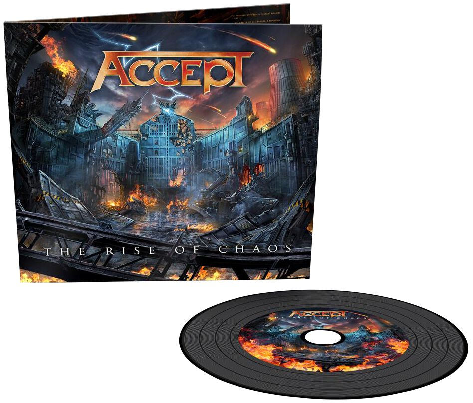 Accept  The rise of chaos  CD  Standard