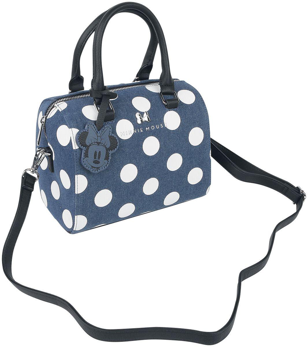 Handtaschen - Micky Maus Loungefly Minni Handtasche blau  - Onlineshop EMP