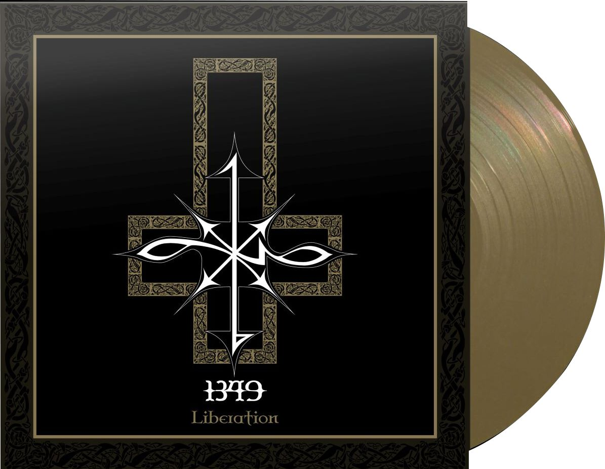 Image of 1349 Liberation LP goldfarben