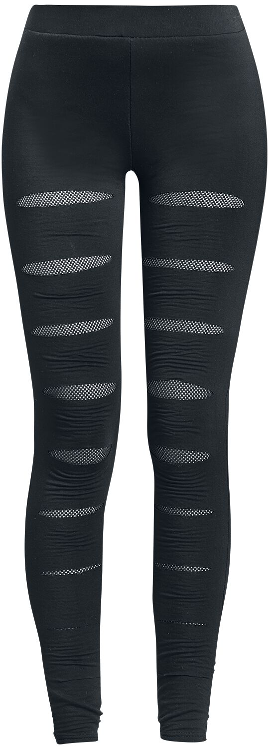Hosen - Forplay Mesh Underlayer Leggings Leggings schwarz  - Onlineshop EMP