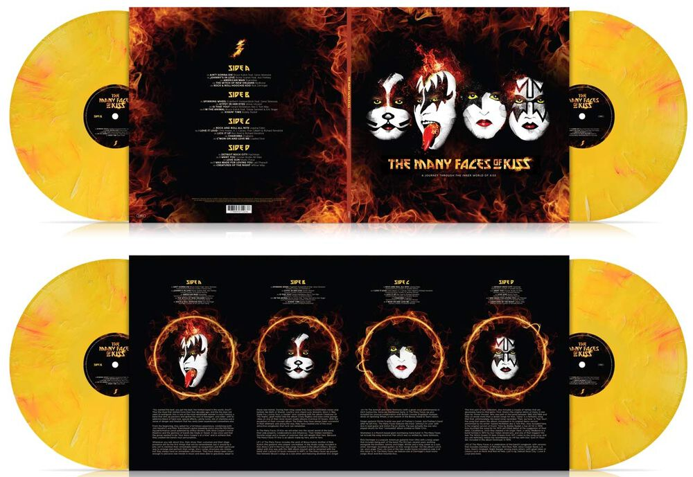 Many Faces Of Kiss
