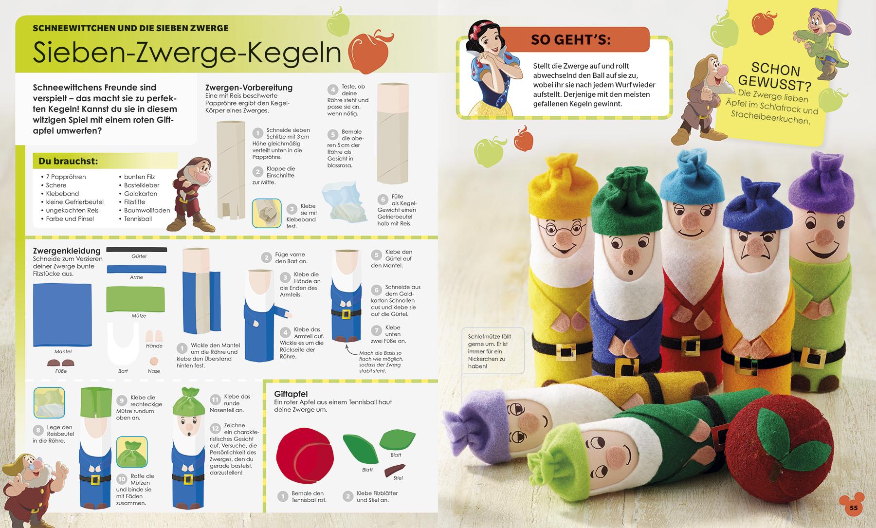 Image of Disney Ideen Buch Gebundene Ausgabe Mehrfarbig