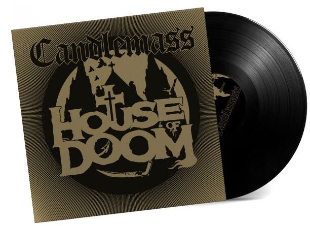 Image of Candlemass House of doom 12 inch-EP schwarz