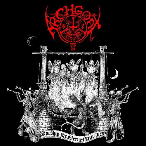 Image of Archgoat Worship the eternal darkness CD Standard