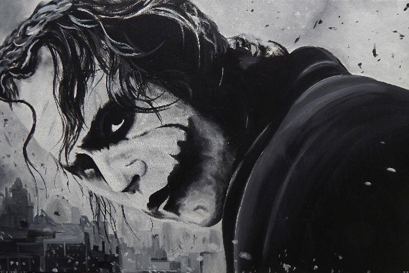 The Joker Face Poster multicolor G867295