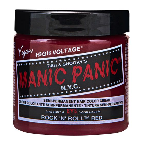 Manic Panic Rock n´Roll Red - Classic  Haar-Farben  rot