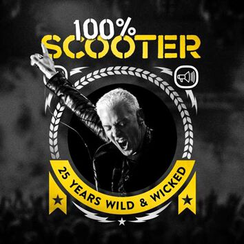 Scooter 100% Scooter - 25 years wild & wicked CD multicolor 1068796STU