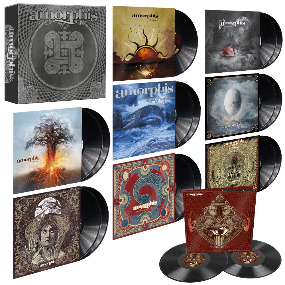 Image of Amorphis Vinyl Collection 2006 -2020 17-LP Standard