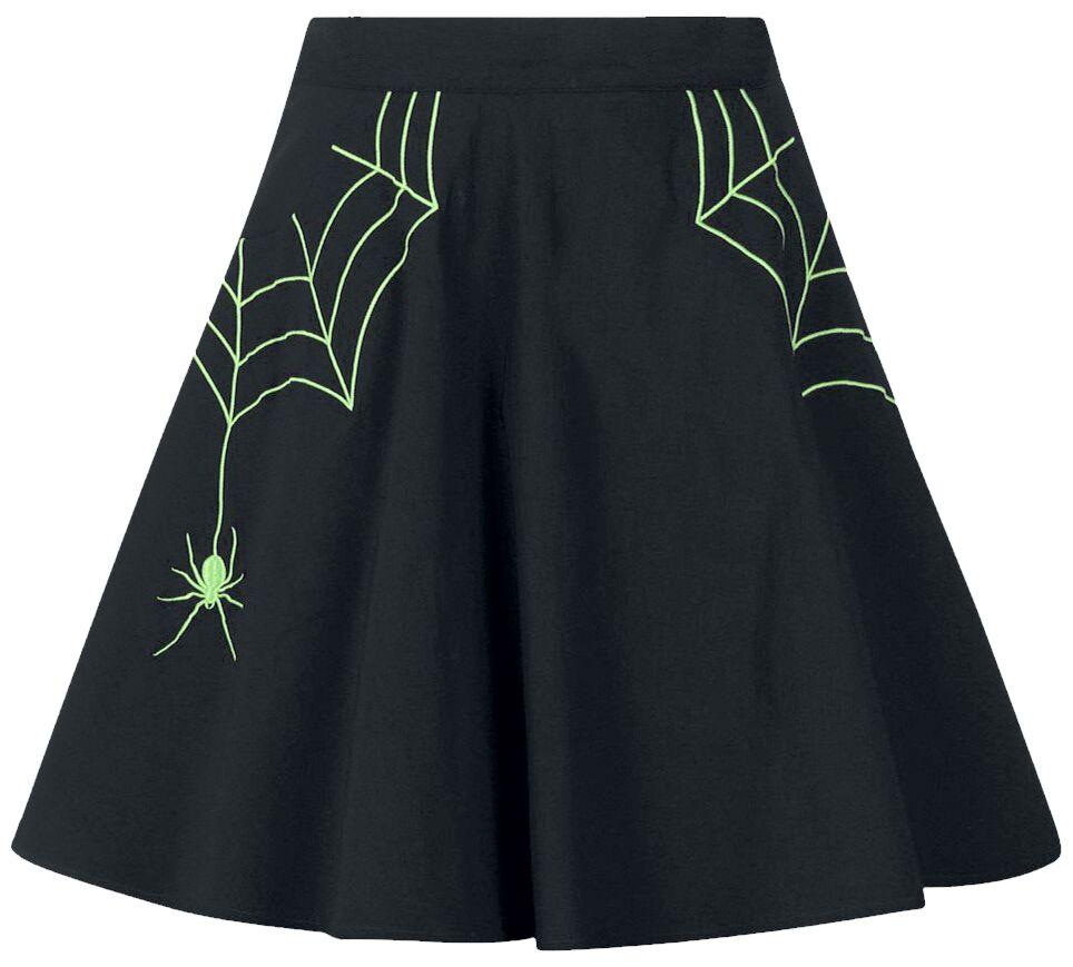Hell Bunny - Miss Muffet Mini Skirt - Kurzer Rock - schwarz