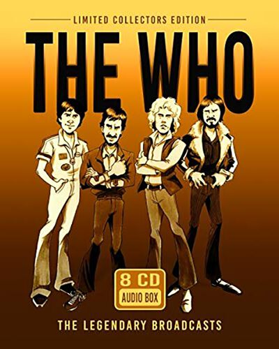 Image of The Who Audio Box 8-CD Standard